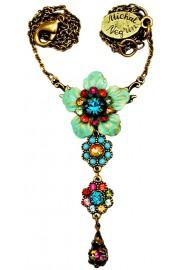 Michal Negrin Multicolor Flower Necklace
