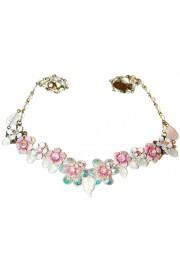 Michal Negrin Pink Aurora Borealis  Necklace