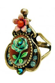 Michal Negrin Rose Relief Ring
