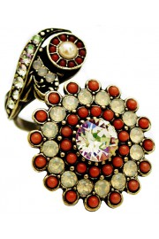 Michal Negrin Sunflower Spiral Ring