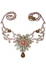 Michal Negrin Pink Bohemian Necklace