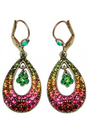 Michal Negrin Mulitcolor Raindrop Earrings