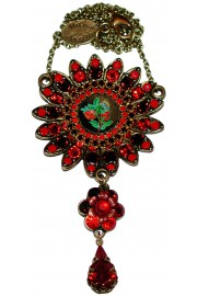 Michal Negrin Red Sun Necklace