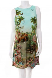 Michal Negrin Fantasy Tunic Dress