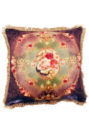 Michal Negrin Antique Roses Cushion Cover