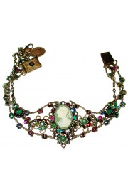 Michal Negrin Victorian Cameo Crystals Bracelet