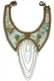 Michal Negrin Multi Chain Bib Necklace
