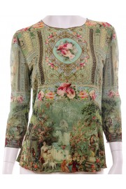 Michal Negrin Victorian Baroque Long Sleeves Shirt