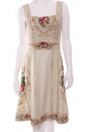 Michal Negrin Vintage Roses Dress