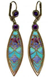 Michal Negrin Vitrage Inspired Earrings