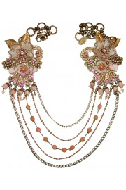 Michal Negrin Antique Lace Chains Necklace