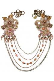 Michal Negrin Antique Lace Chains Necklace