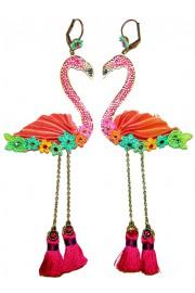 Michal Negrin Flamingo Earrings