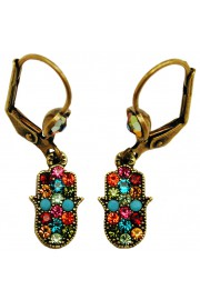 Michal Negrin Small Hamsa Earrings