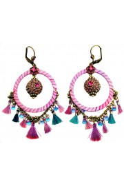 Michal Negrin Lilac Dream Catcher Earrings