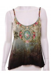 Michal Negrin Enchanted Forest Cami Tank Top