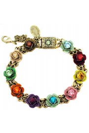 Michal Negrin Multicolor Roses Bracelet