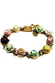 Michal Negrin Pastel Roses Bracelet