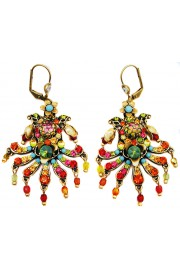Michal Negrin Multicolor Carnival Earrings