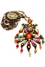 Michal Negrin Multicolor Carnival Necklace