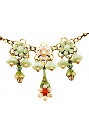Michal Negrin Antique Lily Bells Necklace