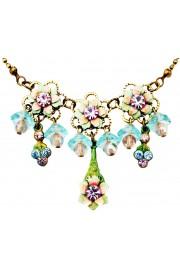 Michal Negrin Vintage Lily Bells Necklace