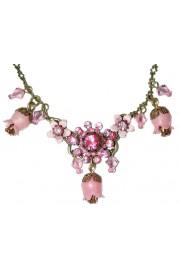 Michal Negrin Pink Bells Necklace