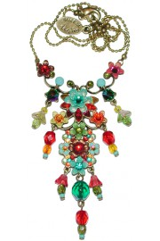 Michal Negrin Multicolor Cluster Necklace