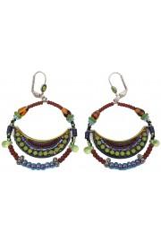 Adaya Maasai Hoop Earrings
