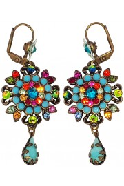 Michal Negrin Multicolor TurquoiseEarrings