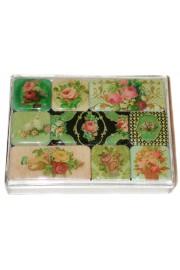 Michal Negrin Roses Refrigerator Magnets Set