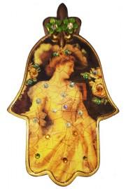 Michal Negrin Lady Wall Hamsa