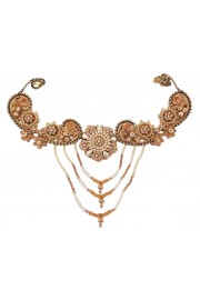 Michal Negrin Embellished Victorian Necklace