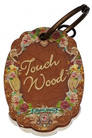 Michal Negrin Notepad Keychain Touch Wood