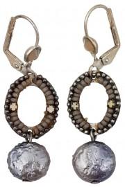 Adaya Moon Mosaic Earrings