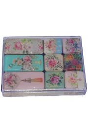 Michal Negrin Roses Refrigerator Magnets Set