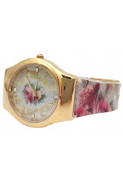 Michal Negrin Baroque Roses Wrist Watch