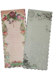 Michal Negrin Pair of Magnetic Shopping Lists