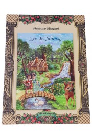 Michal Negrin Live The Fantasy Large Magnet