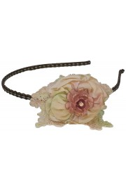 Michal Negrin Vintage Rose Headband