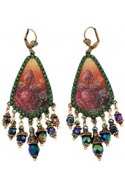 Michal Negrin Grainy Roses Earrings