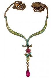 Michal Negrin Drop Pendant Necklace