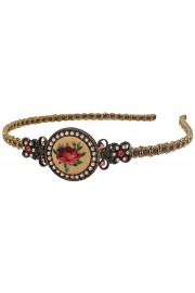 Michal Negrin Rose Cameo Headband