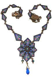 Michal Negrin Deco Pendant Necklace