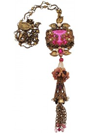 Michal Negrin Pink Noa Necklace