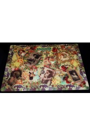 Michal Negrin 6 Placemats and Coasters Set