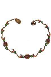 Michal Negrin Delicate Multicolor Cameos Necklace