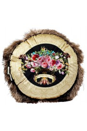 Michal Negrin Round Roses Cushion