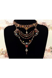 Michal Negrin Victorian Choker Necklace