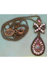 Michal Negrin x Disney Minnie Mouse Tear Pendant Necklace